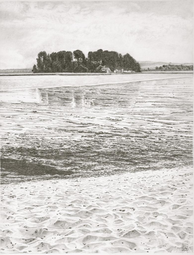 Retreat/Arne/RSPB/Purbeck/Beach/Sand/Tide/Tidal/Reflection/Island